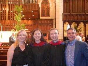 My parents and my wife and I upon graduating from Luther Seminary (May 2012)