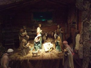 A Nativity in Rome (one of many Nativities I found while visiting Rome in January 2008)