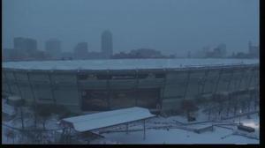 The Deflated Metrodome in Minneapolis