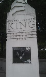 Martin Luther King Jr. National Historic Site (photo taken by Tamara Siburg)