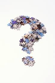 questions with puzzle pieces