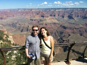 Allison and I at the Grand Canyon