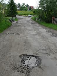 Navigating Potholes- imagine that you are the driver of this car. You are going to have to drive over or around these potholes. Just like this, if you are a leader in a congregation, you will have to do so around or through the potholes of stewardship. How will you navigate them?