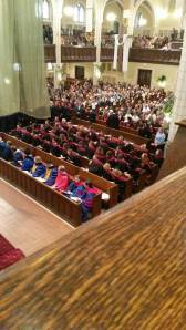 "In the vein of ""All the Feeeeeels,"" here are a number of our close seminary friends at their Commencement."