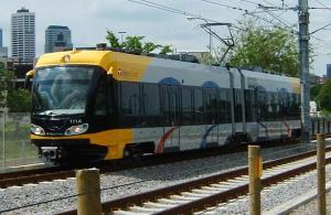 Light rail in the Twin Cities