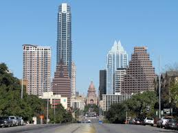 A view of downtown Austin, Texas