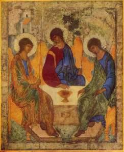 """""""Trinity"""" by Andrey Rublev"""