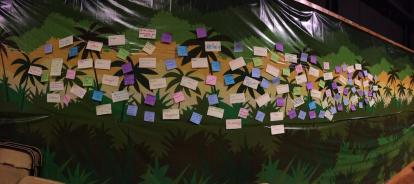 The Post-it-Note Wall of Change