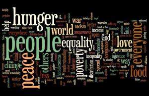 The Word Cloud of Change