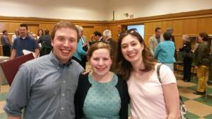 Allison and I with our friend Emily Wiles