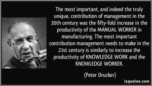druckerknowledgeworker