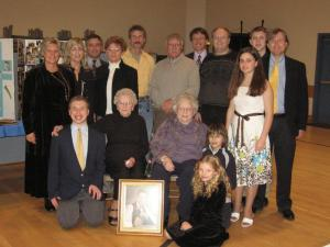 Family gathered for Grandpa's funeral over Thanksgiving Weekend (2007)