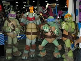 The Teenage Mutant Ninja Turtles- one of my favorite Saturday morning cartoons growing up