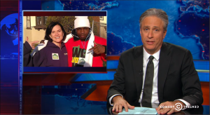 "The story was even picked up by Jon Stewart and ""The Daily Show."""