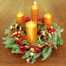 The first candle of the Advent Wreath is lit today, marking the first  of four Sundays of Advent.