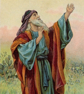 One artist's depiction of the Prophet Isaiah