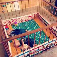 If you are a grandpa would you join your grandkids in a playpen? If you aren't, would your grandpa have joined you?