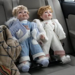 "When going ""home"" for the holidays hurts? Well.. not quite, but when you spend time with part of your family, you might have to see scary dolls that are supposed to resemble people in your family."