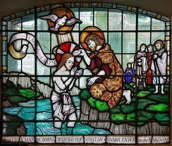 One artist's depiction of John the Bapist