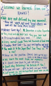 Lessons Learned from the Seahawks