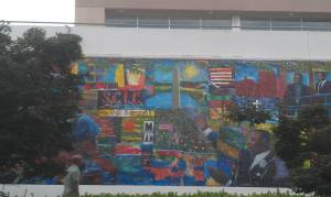 MLK Jr. National Historic Site mural