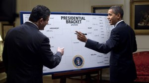 Will you be filling out a bracket or two or three, like President Obama for March Madness this year?