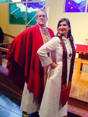 Congratulations and blessings to friend and Pastor Rachel Ringlaben on her recent ordination, as she was ordained by Bishop Michael Rinehart.