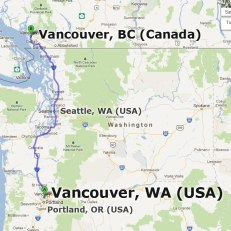 Vancouver, WA not Vancouver, BC