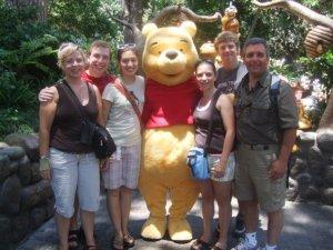 Family at Disney Land
