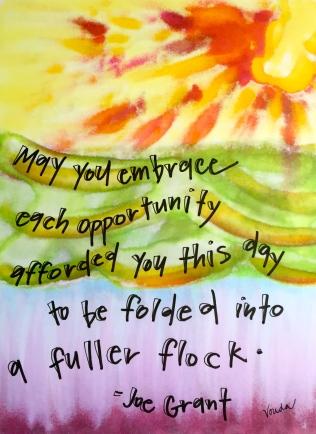 """A Fuller Flock"" by Vonda Drees"