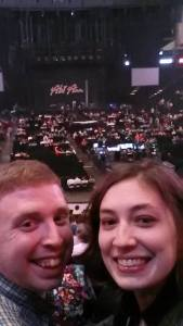 Earlier this week, to celebrate Allison's birthday we went to a Pentatonix and Kelly Clarkson Concert in St. Paul. This was certainly a new experience for me, and one of many that Allison has shared with me along our journey thus far.