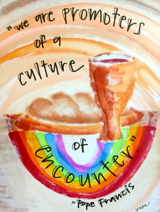 """A Culture of Encounter"" by Vonda Drees."