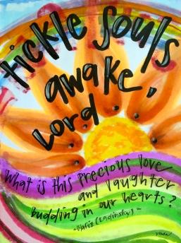 """tickle souls awake"" by Vonda Drees"