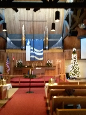 The sanctuary is ready for the start of Advent. Are you ready and prepared?