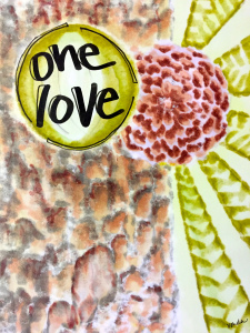 """One Love"" by Vonda Drees"