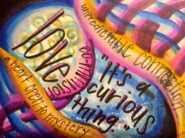 """a curious thing"" by Vonda Drees"