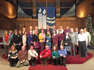The Ft. Vancouver and Lower Columbia Conferences of the Southwestern Washington Synod gathered together for the Bishop's Eucharist at Messiah Lutheran Church (Vancouver, WA).