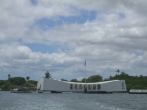 Pearl Harbor in Hawaii (the last time I visited there)