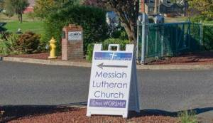 A Welcome Sign at Messiah North County