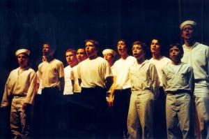 As a sailor in Anything Goes
