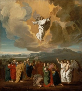 One artist's depiction of the Ascension.
