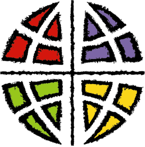 "The logo of the ELCA has a cross, and a globe, which for me, makes the statement, of ""we are church, for the sake of the world."""