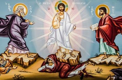 Iconography Metamorphosis Transfiguration Church