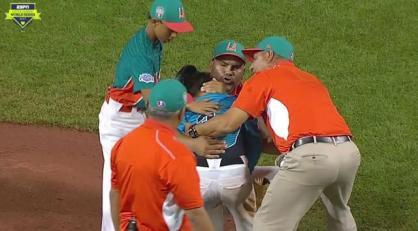 baseball hug