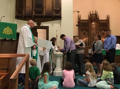 baptism of Stetson
