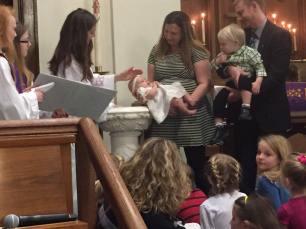 baptism recent