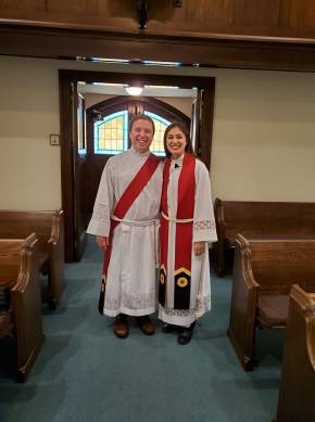 deacon and pastor together